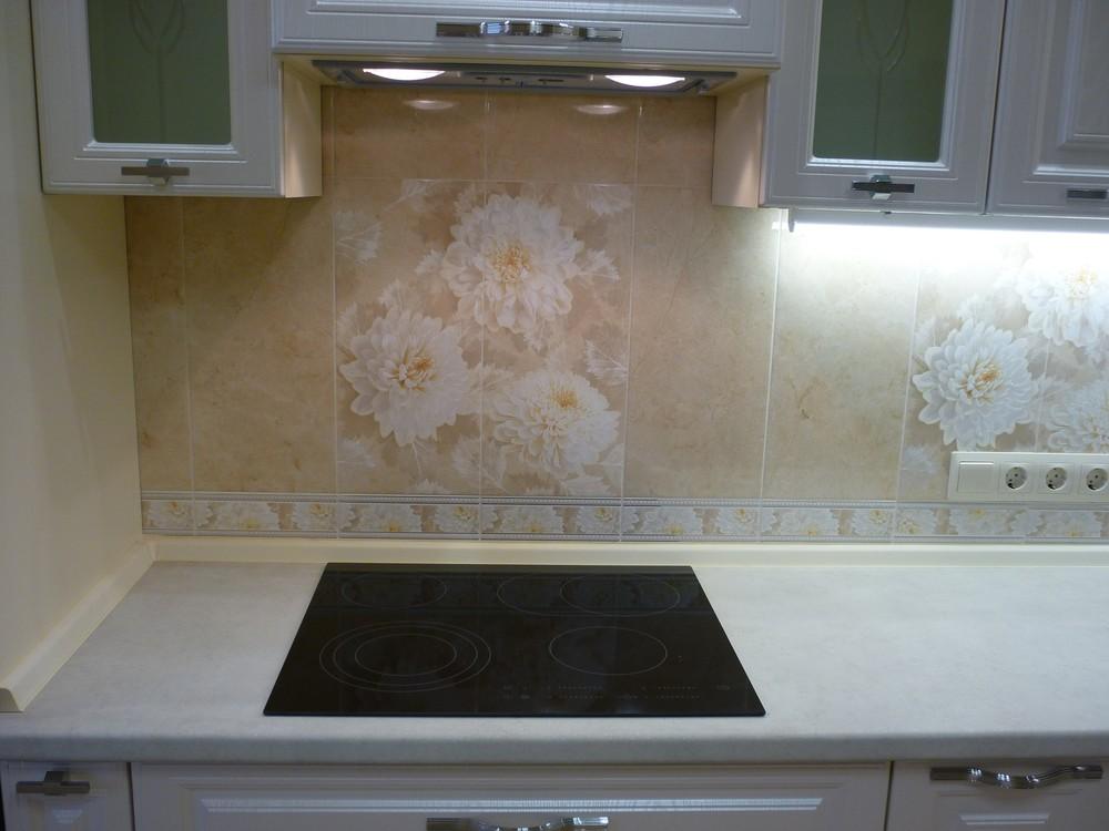 Встроенная кухня-Кухня МДФ в ПВХ «Модель 229»-фото3