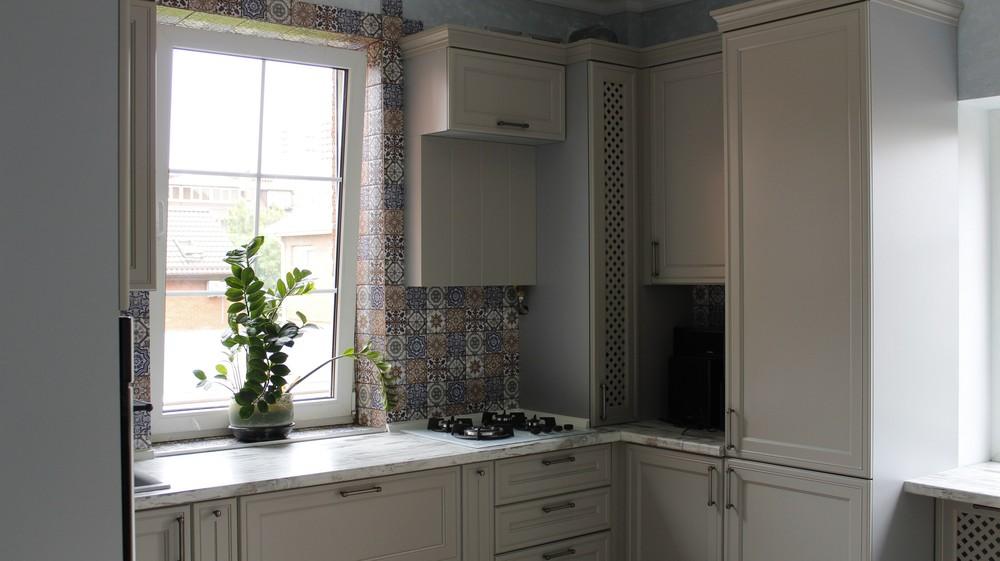 Встроенная кухня-Кухня МДФ в эмали «Модель 283»-фото7