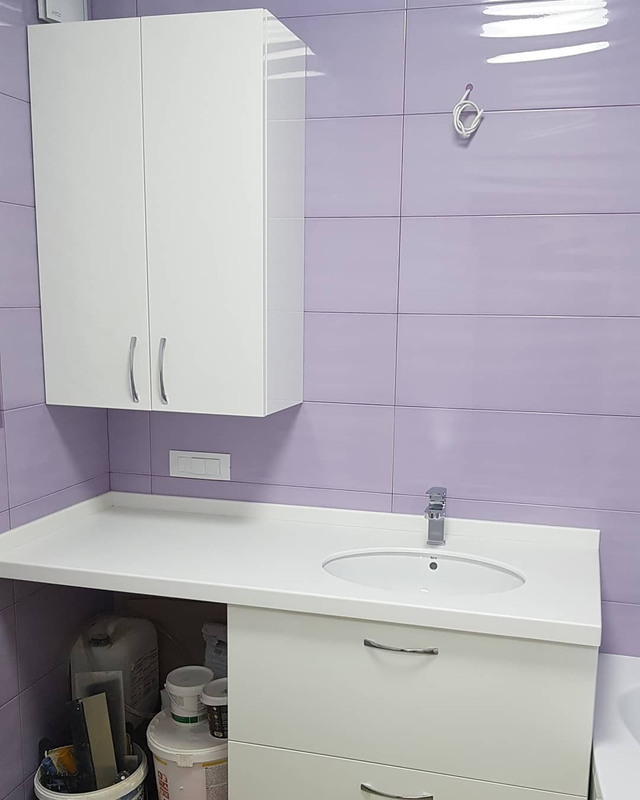 Мебель для ванной комнаты-Мебель для ванной «Модель 93»-фото1
