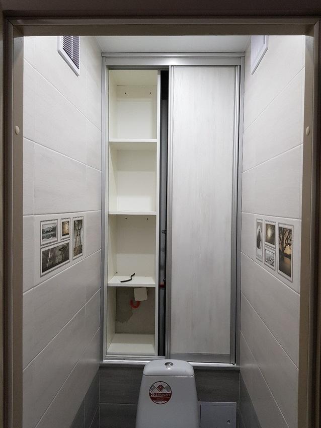 Встроенные шкафы-купе-Шкаф-купе из ЛДСП «Модель 343»-фото2