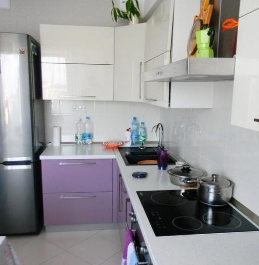 -Кухня МДФ в ПВХ «Модель 238»-фото23