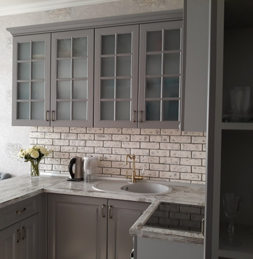 -Кухня МДФ в эмали «Модель 281»-фото6