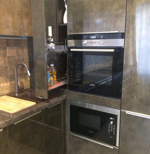 -Кухня из пластика «Модель 113»-фото8