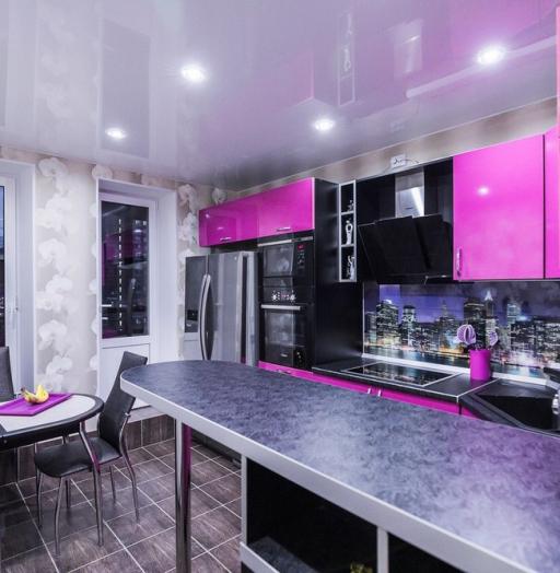 -Кухня МДФ в эмали «Модель 115»-фото11