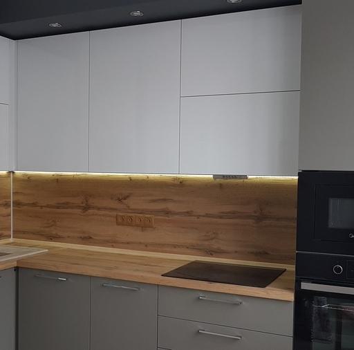 -Кухня из пластика «Модель 374»-фото21
