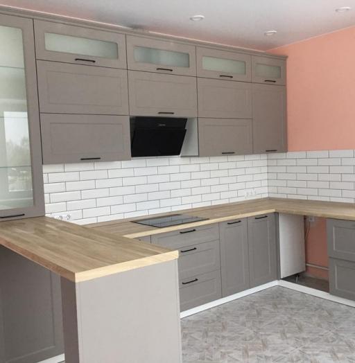-Кухня МДФ в ПВХ «Модель 441»-фото15