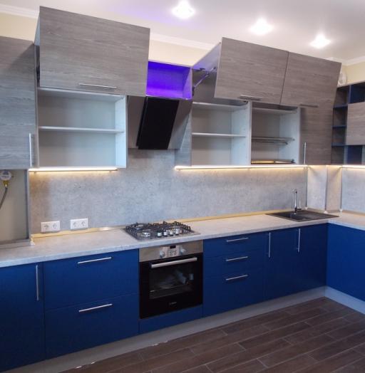 -Кухня МДФ в эмали «Модель 15»-фото14