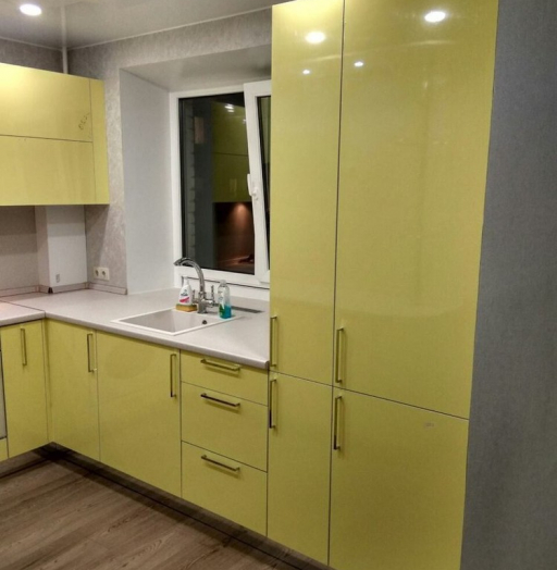 -Кухня МДФ в эмали «Модель 163»-фото3