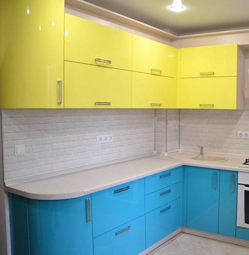 -Кухня МДФ в эмали «Модель 167»-фото4