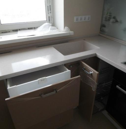 -Кухня МДФ в эмали «Модель 199»-фото10