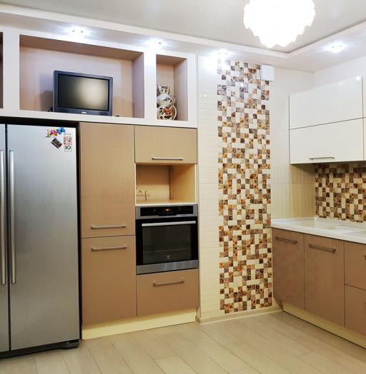 -Кухня из акрила «Модель 298»-фото26
