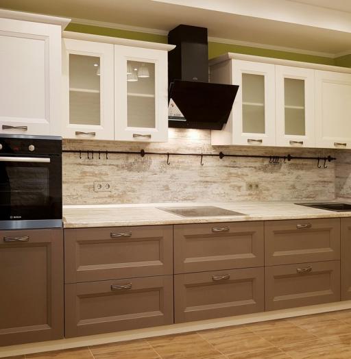 -Кухня из шпона «Модель 25»-фото13