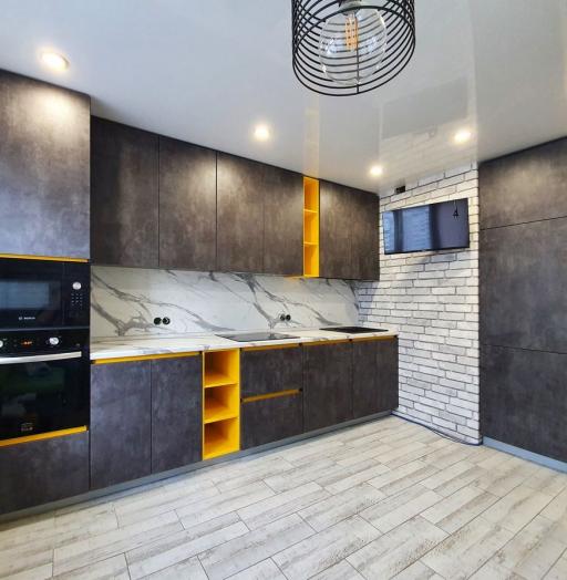 Встроенная кухня-Кухня МДФ в ПВХ «Модель 536»-фото9