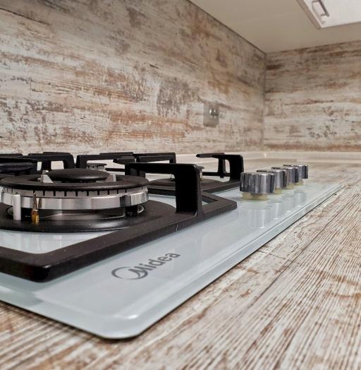 Белый кухонный гарнитур-Кухня МДФ в ПВХ «Модель 555»-фото9