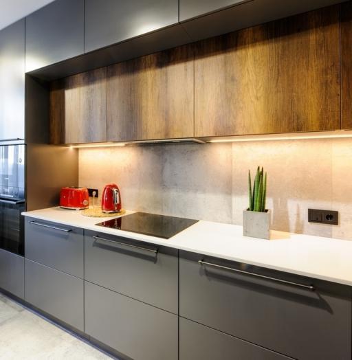 Купить кухню-Кухня МДФ в ПВХ «Модель 605»-фото5